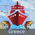 i-Boating:Greece Marine Charts icon