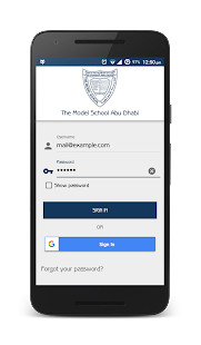 Model School AUH Parent App- screenshot thumbnail