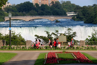 Photo: Looking out toward New York side of the Falls