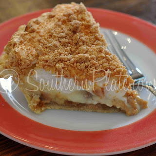 Old Fashioned Peanut Butter Pie.