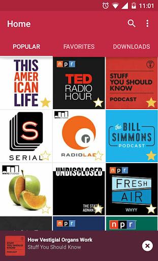 Podslim Podcasts - No ads