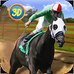 Equestrian: Horse Racing Icon