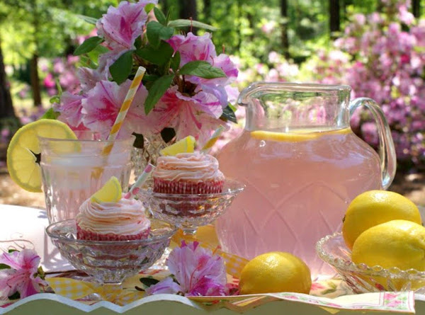 Old Fashioned Pink Lemonade Recipe