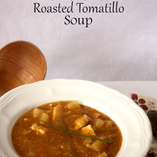 Chicken & Roasted Tomatillo Soup