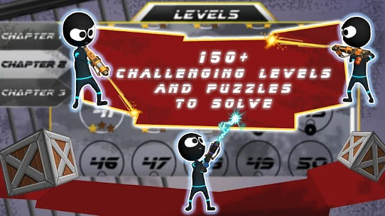 Stickman Shooter Elite Strikeforce 4