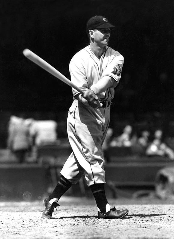 Circa 1929, early incarnation of Wahoo. Earl Averill #3 of the Cleveland Indians. photo credit: Getty Images