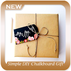 Simple DIY Chalkboard Gift Tags