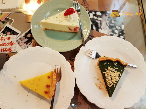 小墊子 I'm mat~巨城附近氣氛下午茶/文青復古風蛋糕甜點店