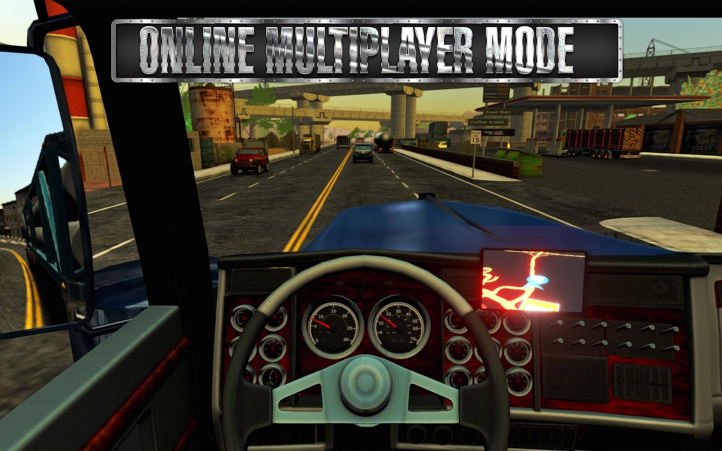 Truck Simulator USA Android Apps On Google Play - Video of car driving across us map