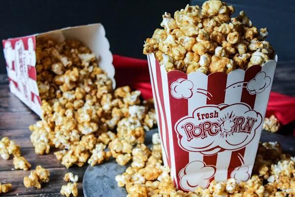Incredible Caramel Popcorn