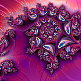 Spiral 61 by Cassy 67 - Illustration Abstract & Patterns ( digital, love, harmony, abstract art, trippy, spiral, abstract, creative, fractals, digital art, psychedelic, modern, light, fractal, purple, style, energy, fashion )