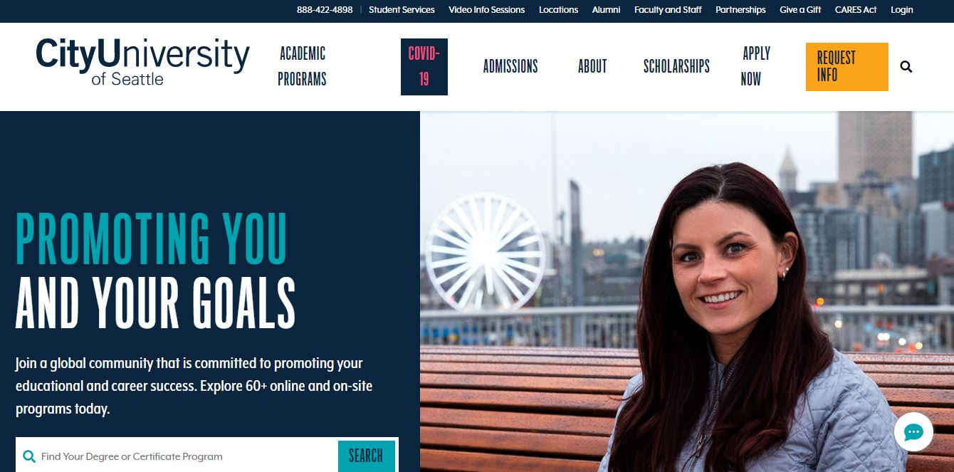City University of Seattle online cybersecurity degree