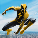 Flying Spider Rope Hero - Super Vice Town Crime APK
