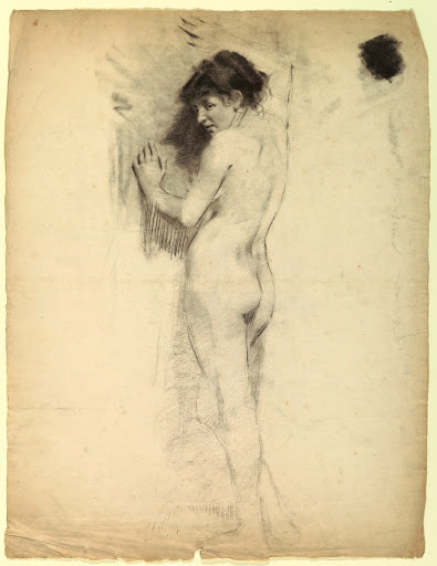 Academic Study of a Female Nude