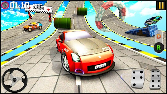 GT Racing Fancy Car Stunts : Insane Driving Tracks 8
