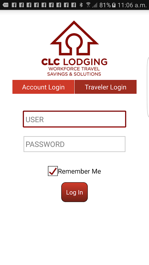 Clc Lodging Hotel Locator Screenshot