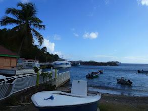 Photo: embarcadère Terre de Bas Les Saintes