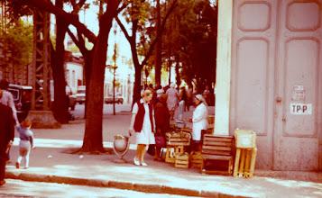 Photo: Katukauppaa Odessassa 1976