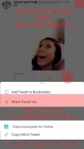 Twitter Video Downloader – Download Video Twitter Apk Latest Version Download For Android 6