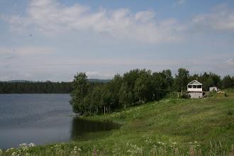 Photo: Uudisasutusta niemen nokassa