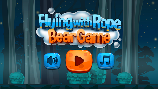 Flying with Rope Bear Game