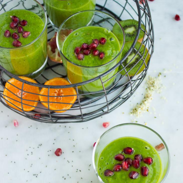 Hemp Matcha Kale Power Boosting Smoothie