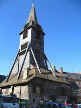Photo: L'église Sainte-Catherine à Honfleur (2007).