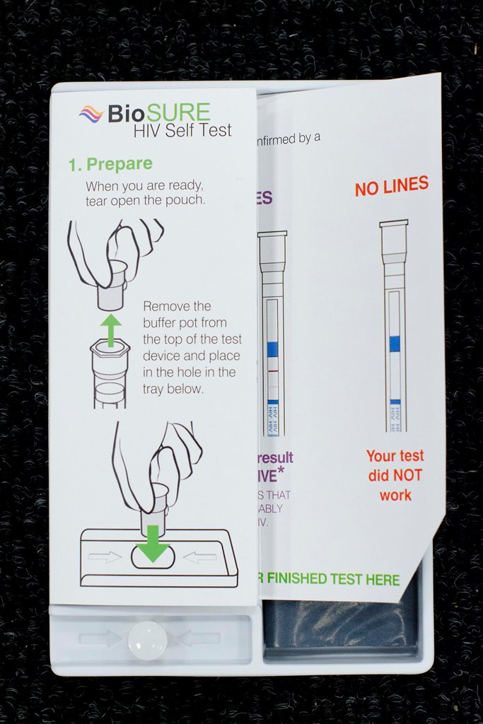 The BioSURE HIV Self Test is 99.7% accurate from three months of suspected exposure to HIV.