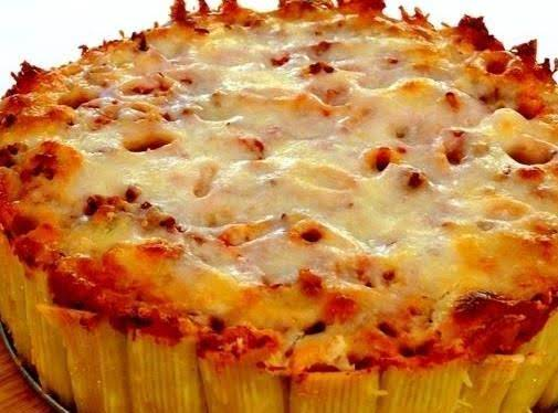 Pasta Pie And Kids Love It!!!