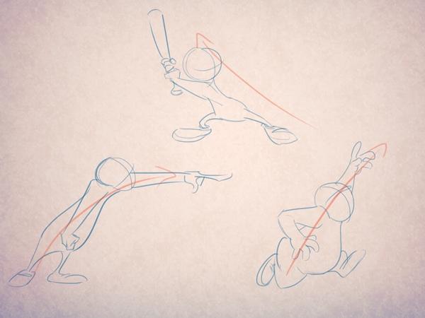 Как нарисовать движение и действия., изображение №2