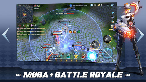 Survival Heroes - MOBA Battle Royale captures d'écran 1
