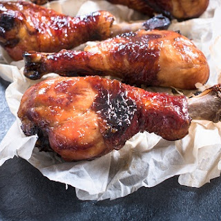 Oh So Easy Honeyed Chicken Drumsticks