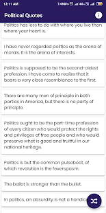 Download Political Quotes and Sayings For PC Windows and Mac apk screenshot 5