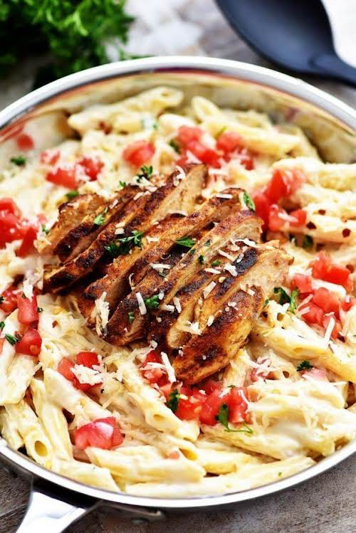 "Cajun Chicken Pasta ""A perfect dinner to make on those crazy weeknights.""..."