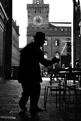 uomo a Bologna di malinowska