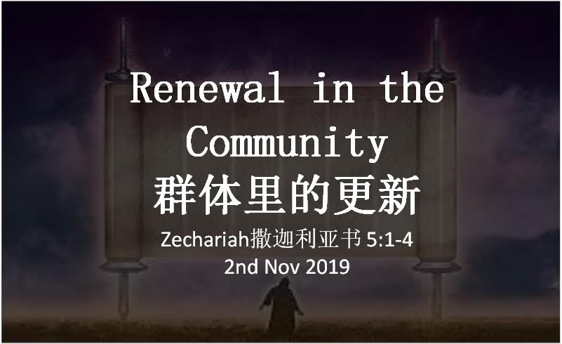 Renewal in the Community (群体里的更新)
