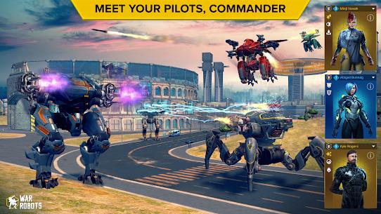 War Robots MOD Apk 5.2.1 (Inactive Bots) 6