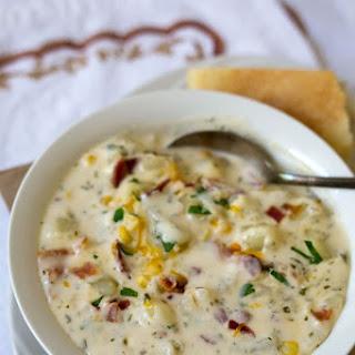 Chunky Potato Cheese Soup Recipe