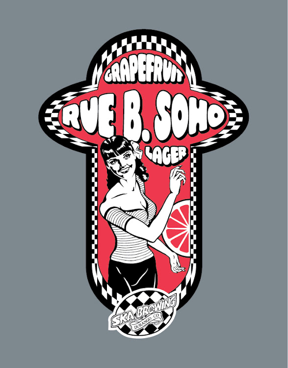 Logo of Ska Rue B. Soho Grapefruit