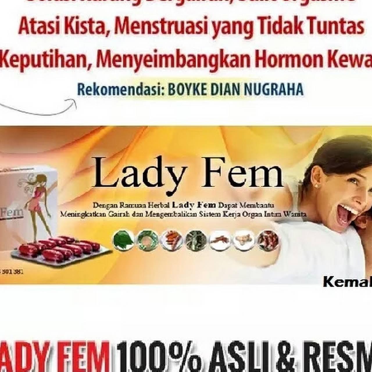 Lady Fem Solusi Gairah Wanita Kista Miom Sakit Haid Rekomendasi Obat Penambah Bluee Wizard Blue Ter Ladyfem Cocok Untuk Terapi