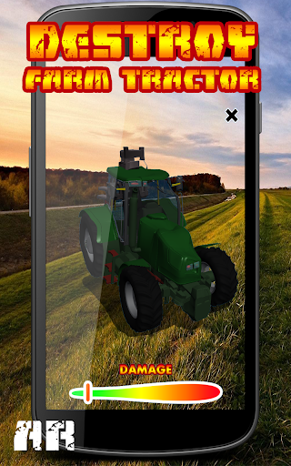 Destroy Farm Tractor