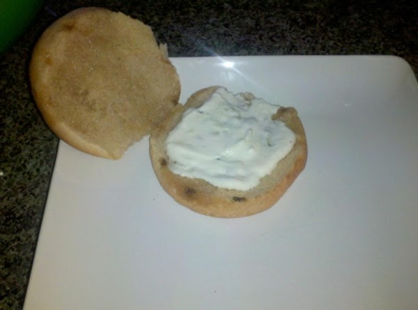 When ready to assemble:  Spread 1 tbls or so of tzatziki sauce on...