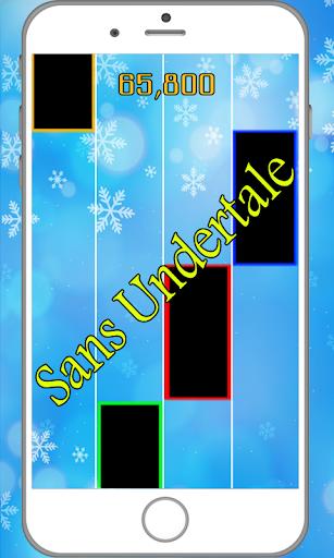 Sans Undertale Piano tiles 2.0 screenshots 2