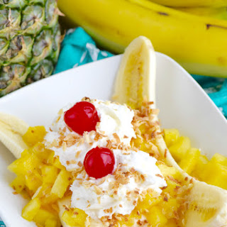 Tropical Banana Split