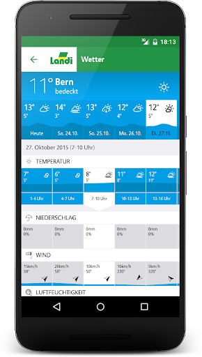 LANDI Wetter 3.2.7 screenshots 4