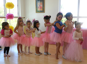 Photo: Ballerina Party Face Painting by Paola Gallardo from http://www.BestPartyPlanner.net