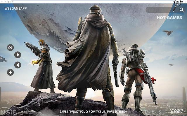 Destiny 2 HD Wallpapers New Tab