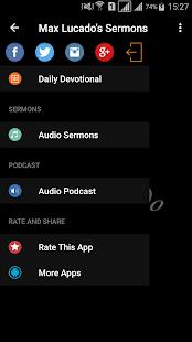 Max Lucado's Sermons - náhled