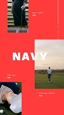 Navy Sky - Facebook Story item