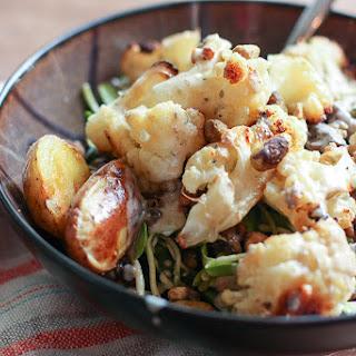 Roasted Cauliflower and Potato Salad
